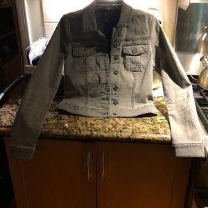 Grey Jean Jacket - never worn - NWOT